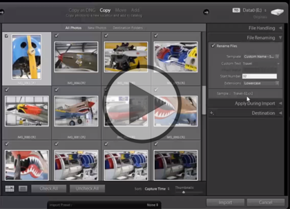Lightroom 5, Part 4: Collections, Video & Backups Trailer
